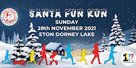 Santa Fun Run 28th November 2021 by Alzheimers Dementia Support 'ADS' tickets