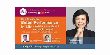 How to enhance Better Performance in Life amidst Uncertainty and Changes tickets