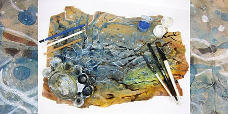 Abstract Map Painting Workshop tickets