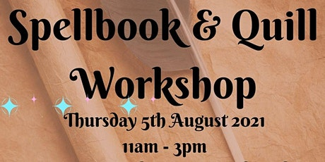 Spellbooks & Quills Workshop tickets