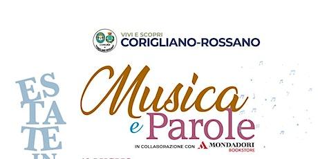 MUSICA E PAROLE: DANILO REA tickets