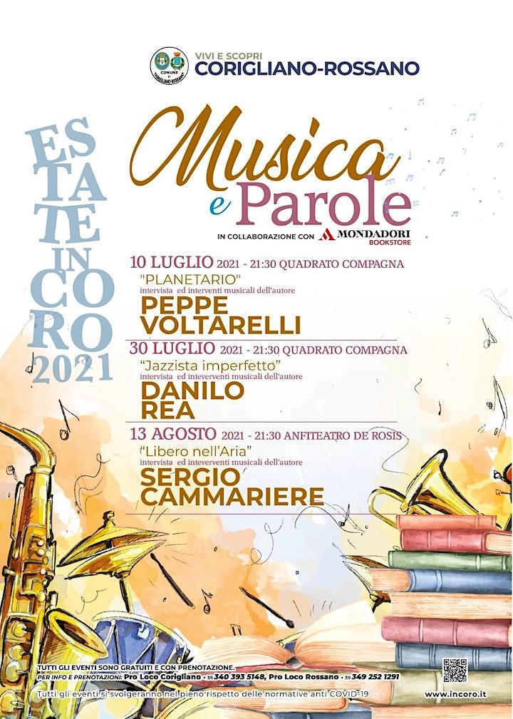 Immagine MUSICA E PAROLE: DANILO REA