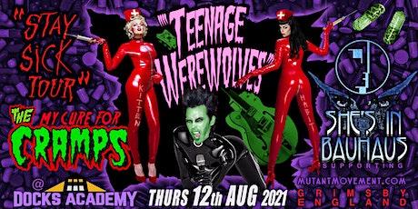 Teenage Werewolves(Cramps tribute)/She's In Bauhaus/Kitten de Ville GRIMSBY tickets