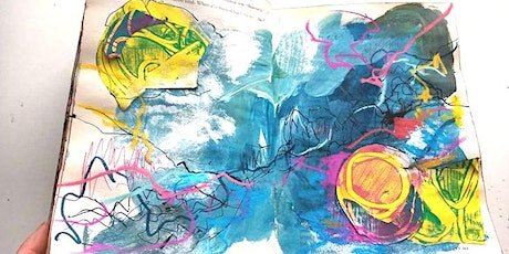 Art Journaling Summer Camp - theme Abstract (2nd of 3 workshops) Tickets