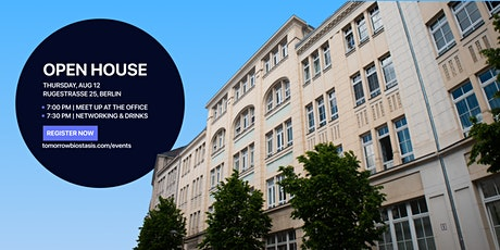 Tomorrow Biostasis Open House Meet-up Berlin tickets