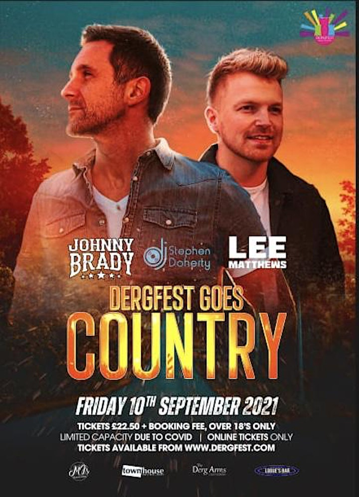 DergFest goes Country- Johnny Brady, Lee Matthews , Strictly +18 image