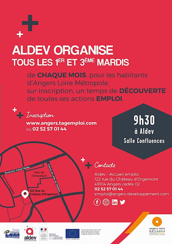 Image pour Réunion d'information sur les actions emploi d'Aldev - Août/Septembre 2021