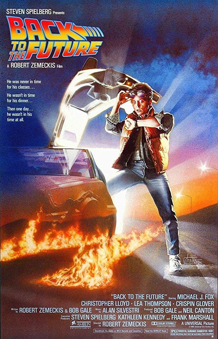 Back To The Future Open Air Cinema at Cotswold Water Park image