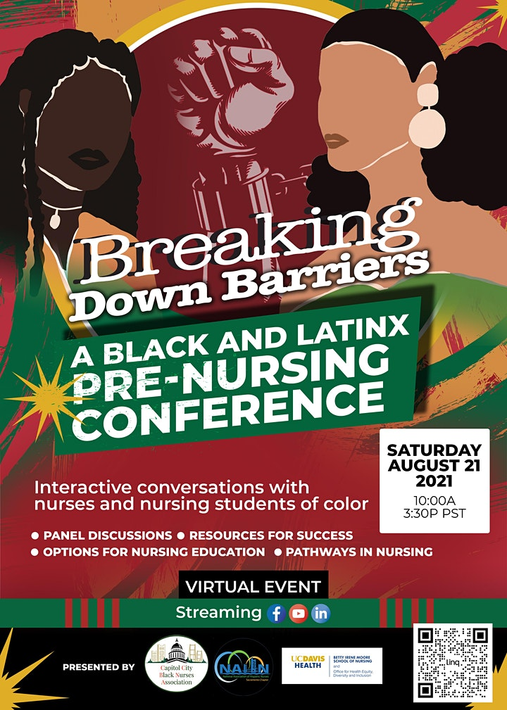 Breaking Down Barriers: A Black and Latinx Pre-Nursing Conference image