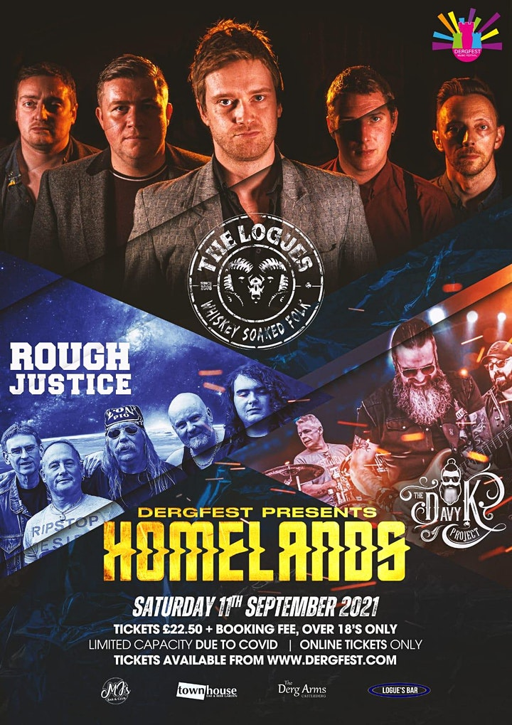 Homelands, Dergfest 21- Strictly +18, The Logues, Davy K Project, R Justice image