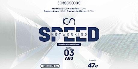 KCN Madrid Oeste Speed Networking Online 3 Ago entradas