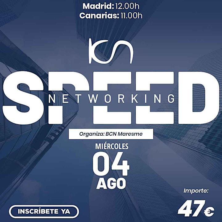 Imagen de KCN Maresme Speed Networking Online 4 Ago