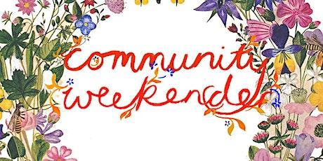Community Weekender tickets