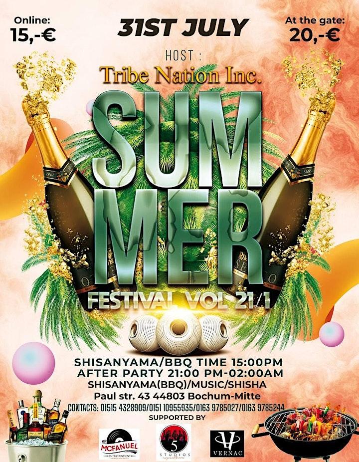 TRIB3 NATION INC.  SUMMER FESTIVAL  21/1 image