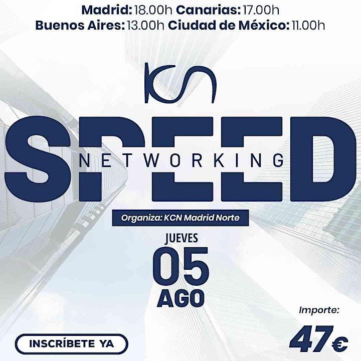 Imagen de KCN Madrid Norte Speed Networking Online 5 Ago