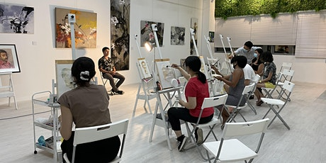 SPECIAL PROMO: Oil Painting Trial Class for 2 - AZ@ Paya Lebar tickets
