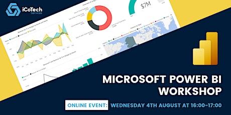 Microsoft Power BI Workshop Tickets
