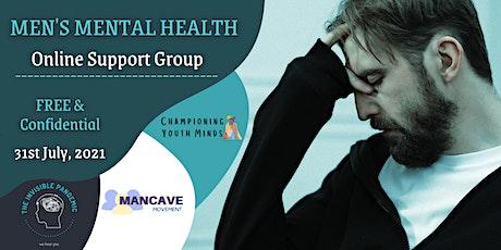 Men's Mental Health Online Support Group tickets