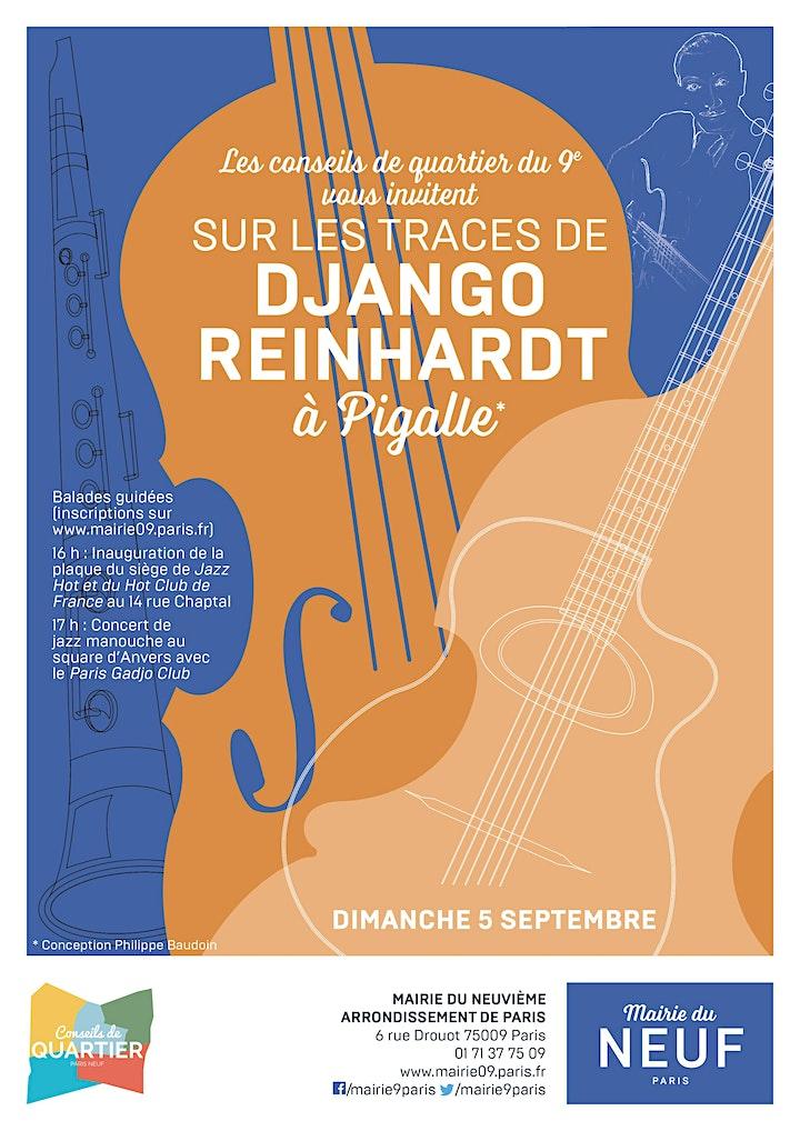 """Image pour Balade guidée """"sur les traces de Django Reinhardt"""""""