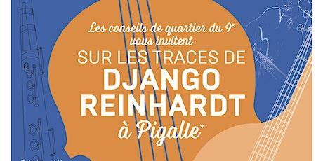 """Balade guidée """"sur les traces de Django Reinhardt"""" billets"""