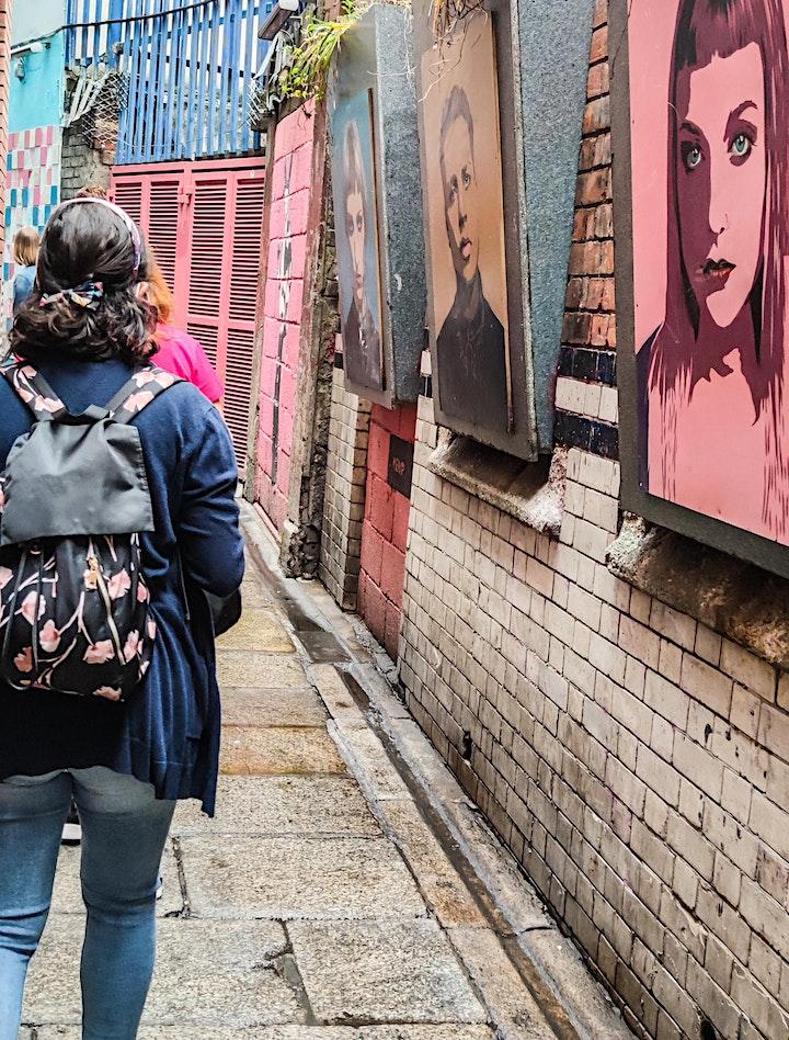 Street Art Walking Tour Saturday 4th September 2021 4pm image