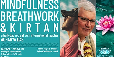 Wellington - mindfulness, breathwork and kirtan - half day retreat tickets