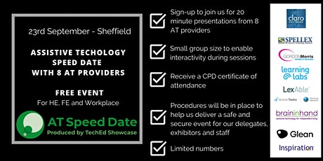TechEd Showcase AT Speed Date - Sheffield tickets