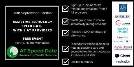 TechEd Showcase AT Speed Date - Belfast tickets