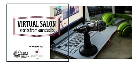 Virtual Salon - Stories from our Studio tickets