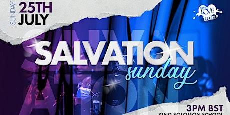 Salvation Sunday 2021 tickets
