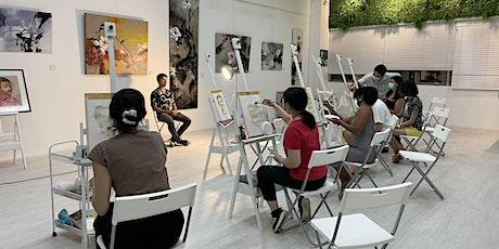 SPECIAL PROMO: Acrylic Painting Trial Class for 2 - AZ@ Paya Lebar tickets