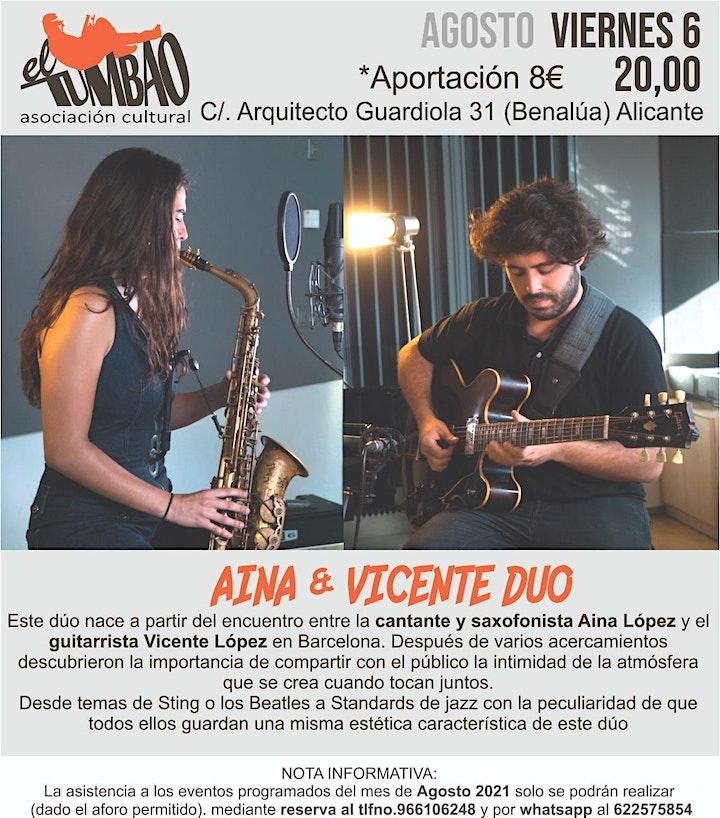 Imagen de Aina & Vicente dúo