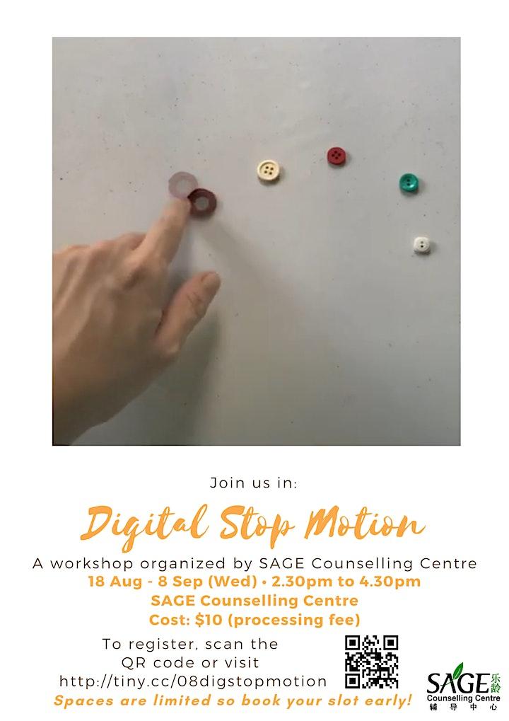 [SAGECC Art August] Basic Digital Stop Motion image