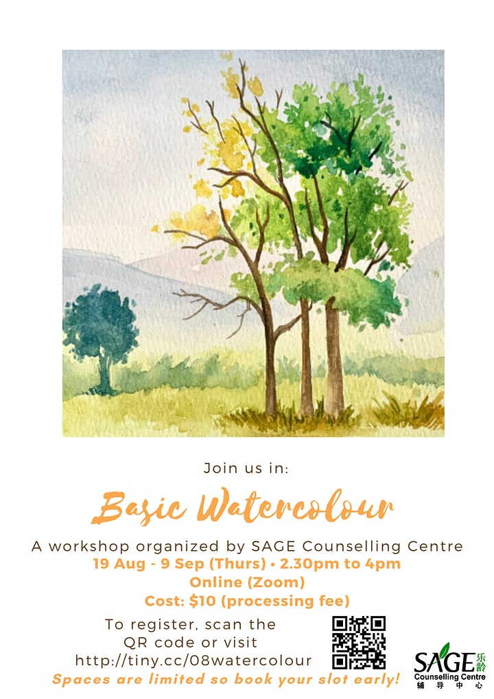 [SAGECC Art August] Basic Watercolour image