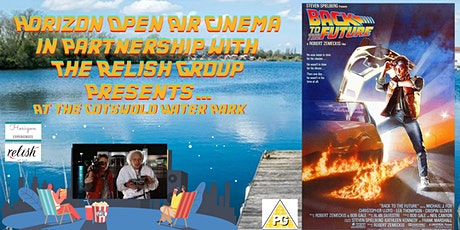 Back To The Future Open Air Cinema at Cotswold Water Park tickets