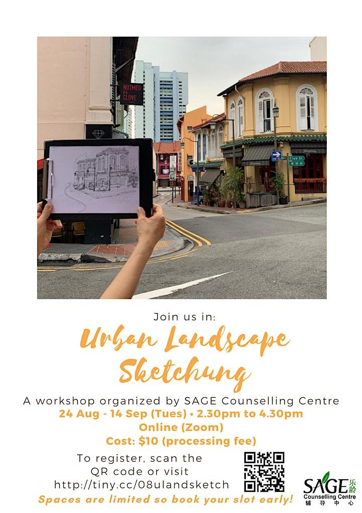 [SAGECC Art August] Urban Sketching image