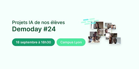 Data Demoday #24 - Jedha Bootcamp billets
