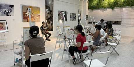 SPECIAL PROMO: Watercolour Painting Trial Class for 2 - AZ@ Paya Lebar tickets