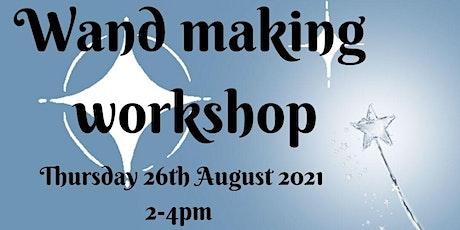 Wand Making Workshop tickets