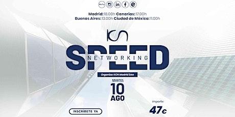 KCN Madrid Este Speed Networking Online 10 Ago entradas