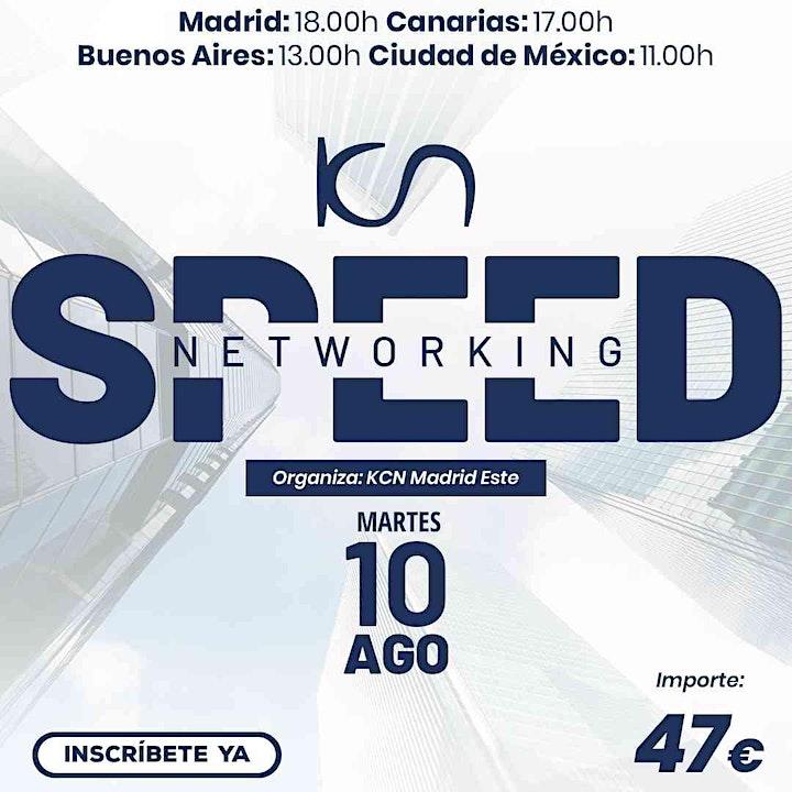Imagen de KCN Madrid Este Speed Networking Online 10 Ago