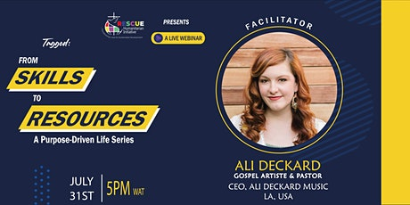 From Skills To Resources (A Purpose Driven Life Series) tickets