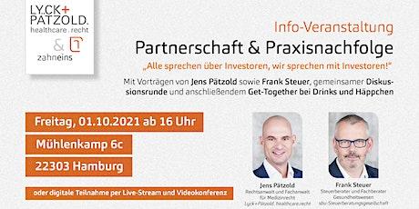 Partnerschaft & Praxisnachfolge Tickets
