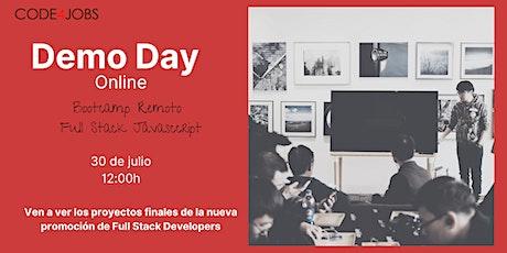 Demo Day - Bootcamp Full Stack JavaScript entradas