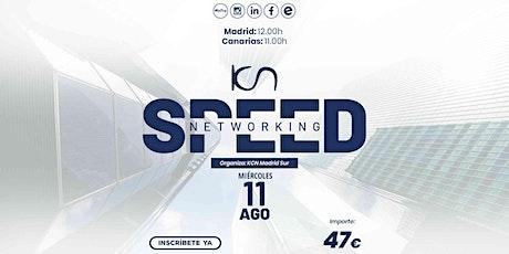 KCN Madrid Sur Speed Networking Online 11 Ago entradas