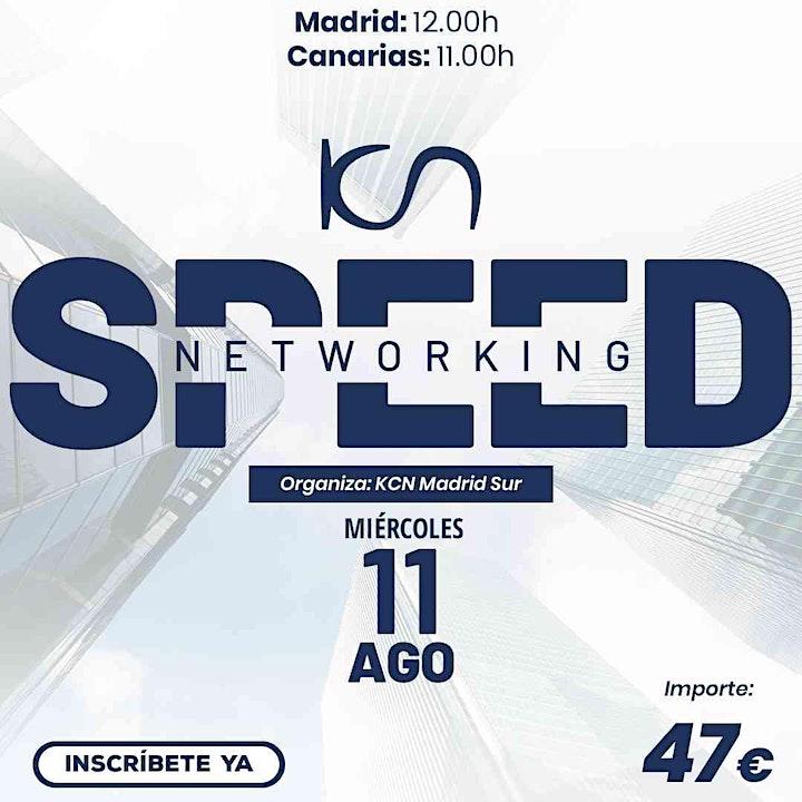 Imagen de KCN Madrid Sur Speed Networking Online 11 Ago