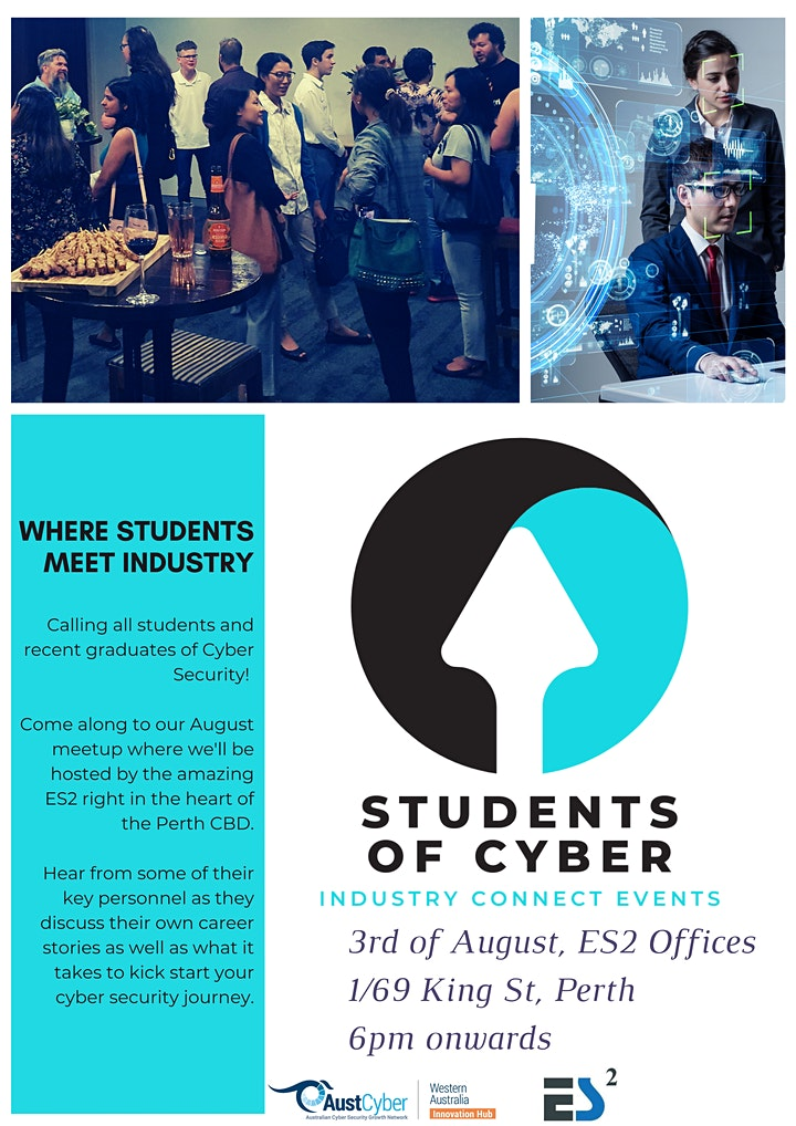 Students of Cyber - August Meetup @ ES2 image