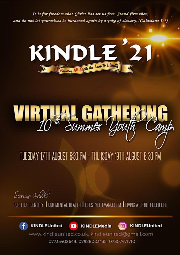 KINDLE 2021 Virtual Youth Gathering image
