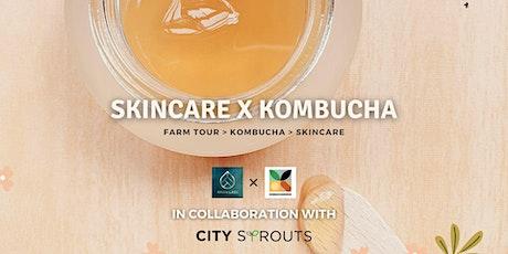 Skincare x Kombucha tickets