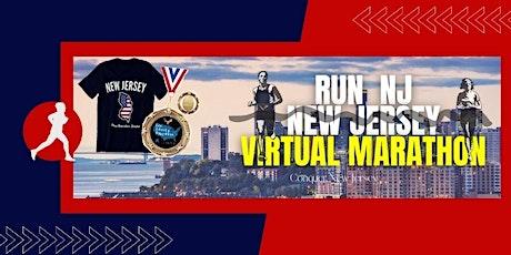 Run NJ New Jersey Virtual Marathon tickets